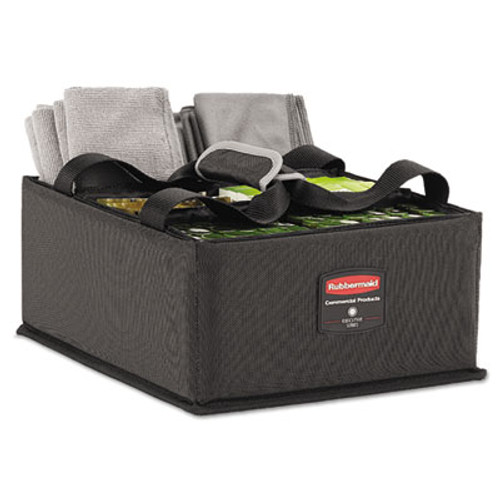 Rubbermaid Executive Quick Cart Caddy, Large, Dark Gray (RCP 1902468)