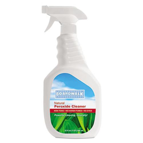 Boardwalk Natural Multi-Purpose Hydrogen Peroxide Cleaner, 32 oz Spray Bottle, 12/Ctn (BWK37412)