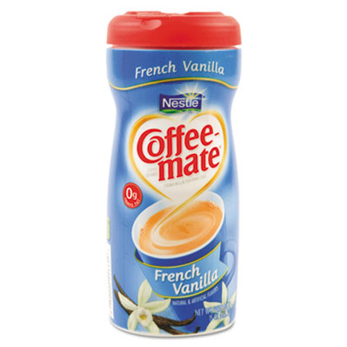 Coffee-mate French Vanilla Creamer Powder, 15oz Plastic Bottle (NES 35775CT)