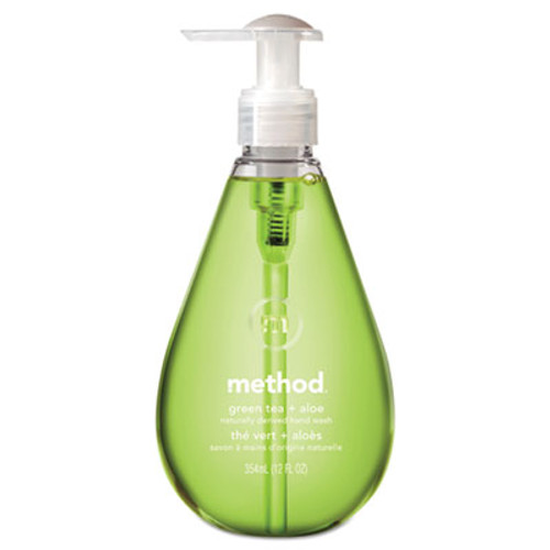 Method Gel Hand Wash, Green Tea & Aloe, 12 oz Pump Bottle (MTH00033)