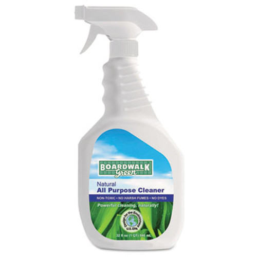 Boardwalk Natural All Purpose Cleaner, Unscented, 32 oz Spray Bottle (BWK 371-12)