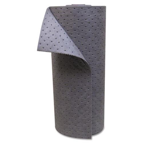 Anchor Brand Universal Sorbent-Pad Roll, 30w x 120ft, Gray (ANRABBRU120)