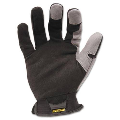Ironclad Workforce Glove, X-Large, Gray/Black, Pair (IRNWFG05XL)