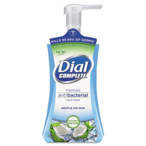 Dial Antibacterial Foaming Hand Wash, Coconut Waters, 7.5 oz Pump Bottle (DIA 09316CT)