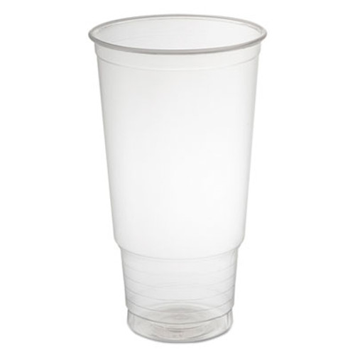 Dart Polypropylene Cups, Cold Cups, 32 oz, Clear, 25/Bag, 20 Bags/Carton (DCC 32P)