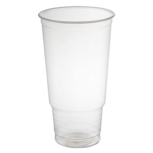 Dart Polypropylene Cups, Cold Cups, 32 oz, Clear, 25/Bag, 20 Bags/Carton (DCC 32P)