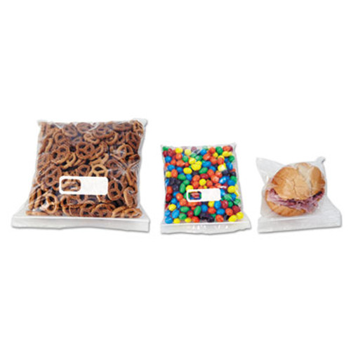 Boardwalk Reclosable Food Storage Bags, 1 Gal, 1.75 mil, Clear, LDPE, 10.56 x 11, 250/Box (BWK 1GALBAG)