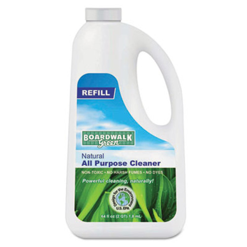 Boardwalk Natural All Purpose Cleaner, Unscented, 64 oz Bottle, 6/Carton (BWK 372-6)