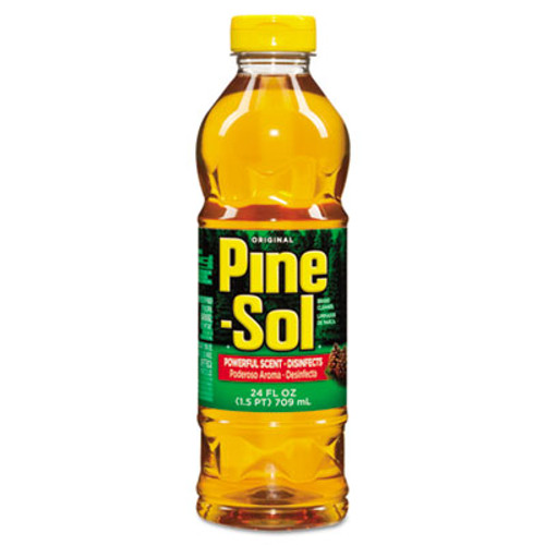 Pine-Sol Multi-Surface Cleaner Disinfectant, Pine, 24oz Bottle (CLO97326)