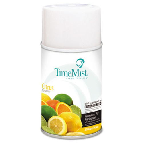 TimeMist Metered Fragrance Dispenser Refill, Citrus, 6.6oz, Aerosol (TMS1042781EA)
