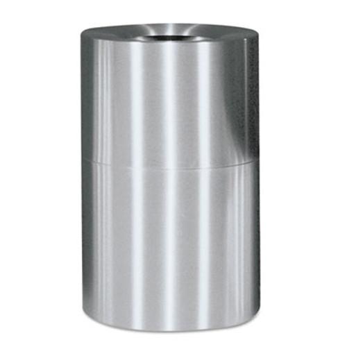Rubbermaid Atrium Extra Large Capacity Aluminum Container, Open Top, 62 Gal, Satin Finish (RCP AOT62SAPL)