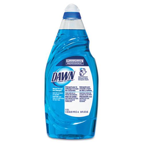 Dawn Manual Pot & Pan Dish Detergent, 38 oz Bottle, 8/Carton (PGC45112CT)