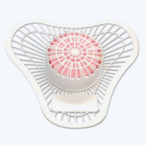 Big D Industries Non-Para Urinal Screen, Lasts 30 Days, White, Cherry Fragrance, 12/Box (BGD 930)