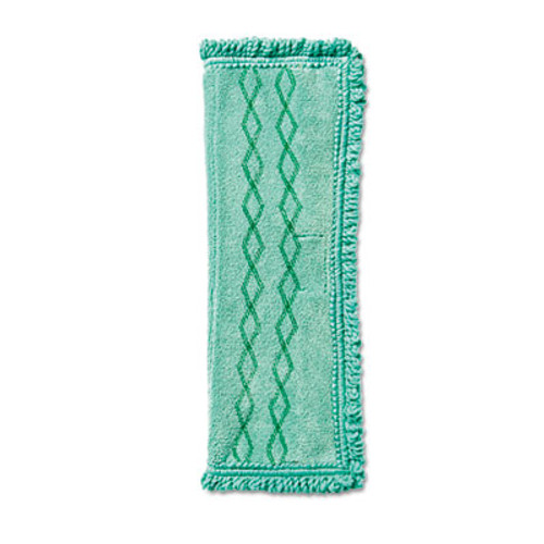 Rubbermaid Commercial HYGEN HYGEN Microfiber Dust Mop, Green (RCP 1791793CT)