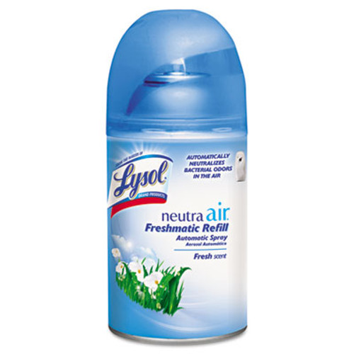 LYSOL NEUTRA AIR FRESHMATIC Spray Dispenser Refill, Fresh Scent, Aerosol, 6.17oz, 6/Carton (RAC79831)