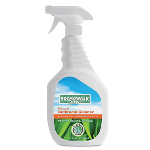 Boardwalk All-Natural Bathroom Cleaner, 32 oz Spray Bottle (BWK 377-12)