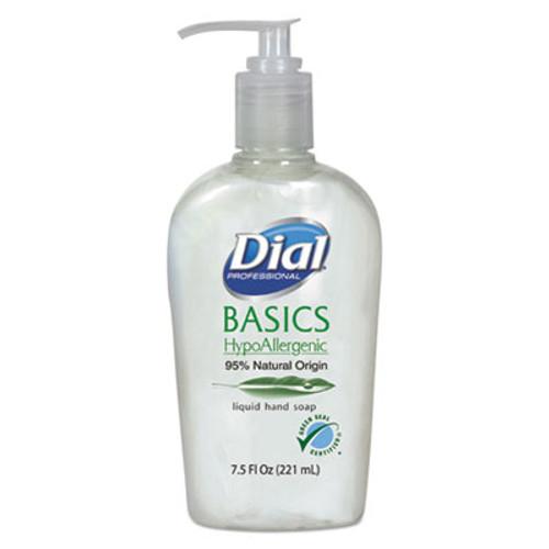 Dial Basics Liquid Hand Soap, 7.5 oz, Fresh Floral (DIA06028)