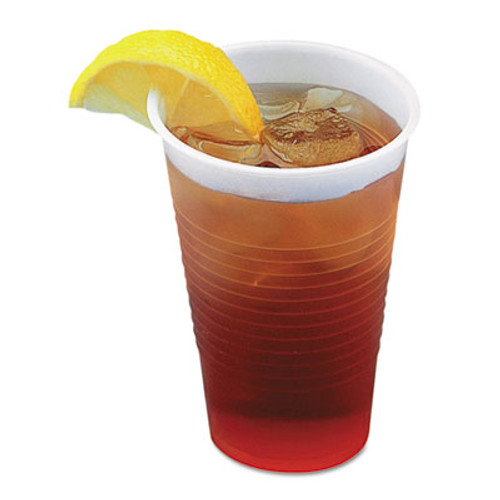 Boardwalk Translucent Plastic Cold Cups, 5oz, 100/Pack (BWKTRANSCUP5PK)