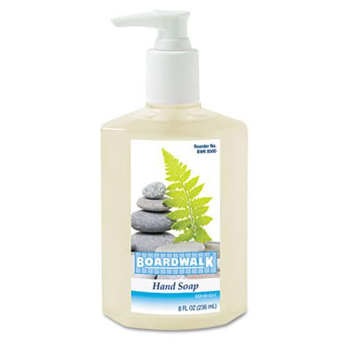 Boardwalk Liquid Hand Soap, Floral, 8oz Pump Bottle, 12/Carton (BWK8500)