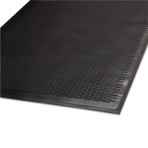 Guardian Clean Step Outdoor Rubber Scraper Mat, Polypropylene, 36 x 60, Black (MLL14030500)