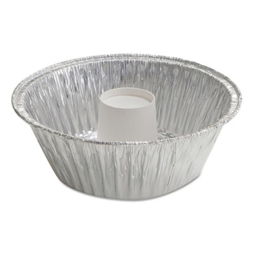"Handi-Foil of America Angel Food Cake Pan, 60 oz, 8 3/4"" x 3 5/32"", 250/Carton (HFA 406035)"