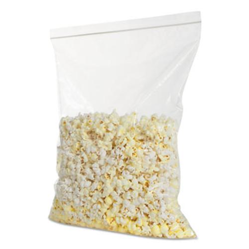 BagCo Zippit Resealable Bags, 4 mil, 13w x 18h, Clear, 100 Pack, 5 Packs/Carton (MGP MGZ4P1318)