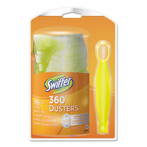 Swiffer 360 Duster Starter Kit, Handle with One Disposable Duster (PGC16942)