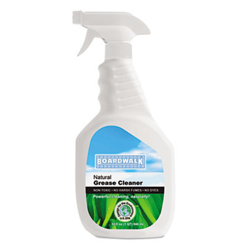 Boardwalk Boardwalk Green Natural Grease and Grime Cleaner, 32 oz Spray Bottle (BWK 376-12)