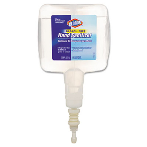 Clorox Hand Sanitizer Touchless Dispenser Refill, 1 Liter (CLO 30243CT)