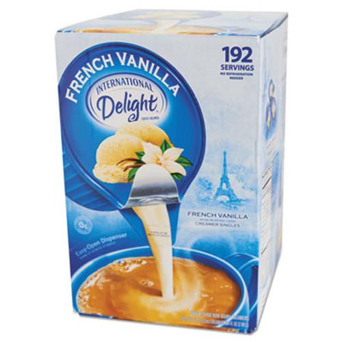 International Delight Flavored Liquid Non-Dairy Coffee Creamer, French Vanilla, 0.4375 oz Cups, 192/CT (ITD827981)