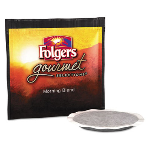 Folgers Gourmet Selections Coffee Pods, Morning Blend, 18/Box (FOL63104)