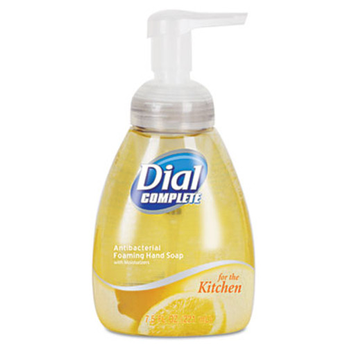 Dial Antimicrobial Foaming Hand Wash, Light Citrus, 7.5oz Pump Bottle, 8/Carton (DIA 06001CT)