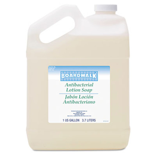Boardwalk Antibacterial Liquid Soap, Floral Balsam, 1gal Bottle, 4/Carton (BWK430CT)