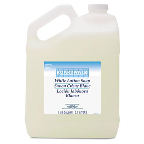 Boardwalk Mild Cleansing Lotion Soap, Floral Scent, Liquid, 1gal Bottle, 4/Carton (BWK420CT)