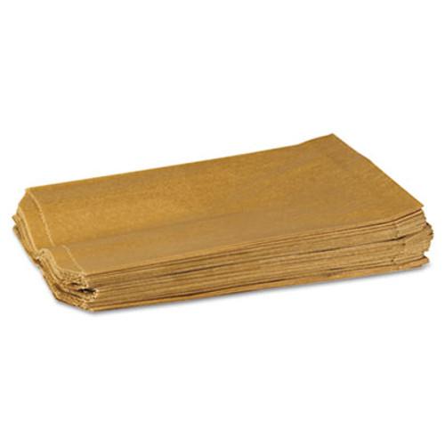 HOSPECO Napkin Receptacle Liner, Kraft Waxed Paper, 500/Carton (HOS260)