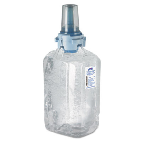 PURELL Advanced Green Certified Hand Sanitizer Gel Refill, 1200mL, FragFree, 3/Carton (GOJ880303CT)