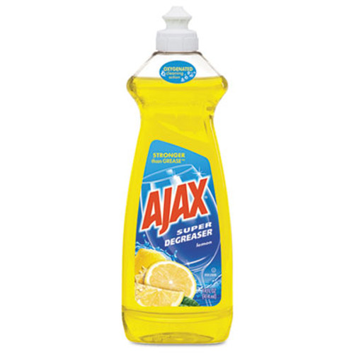 Ajax Dish Detergent, Lemon Scent, 28 oz Bottle, 9/Carton (CPC44673)