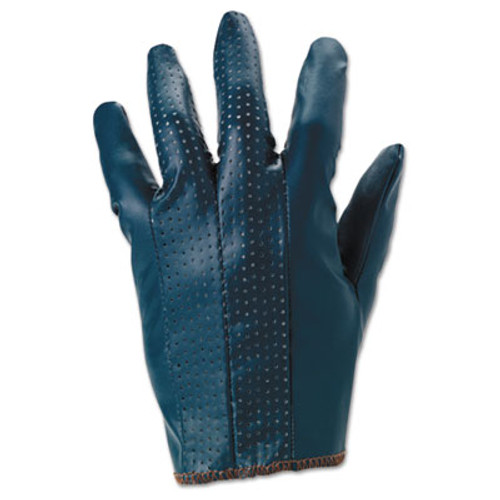 AnsellPro Hynit Multipurpose Gloves, Size 7 1/2, Blue, 12 Pairs (ANS3212575)