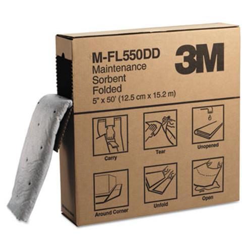 3M High-Capacity Maintenance Folded Sorbent, 10.5gal Capacity, 3/Carton (MMM07172)