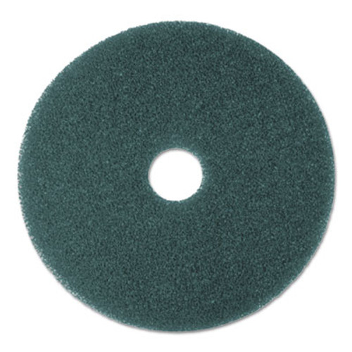 "3M Low-Speed High Productivity Floor Pads 5300, 21"" Diameter, Blue, 5/Carton (MMM08414)"