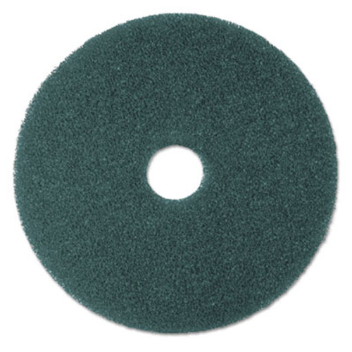 "3M Low-Speed High Productivity Floor Pads 5300, 22"" Diameter, Blue, 5/Carton (MMM08415)"
