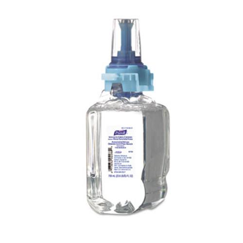 PURELL Advanced Grn Certified Instant Hand Sanitizer Foam, 700mL, Fragrance-Free, 4/CT (GOJ870404CT)