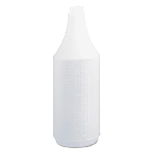Boardwalk Embossed Spray Bottle, 32 oz, Clear, 24/Carton (BWK00032)