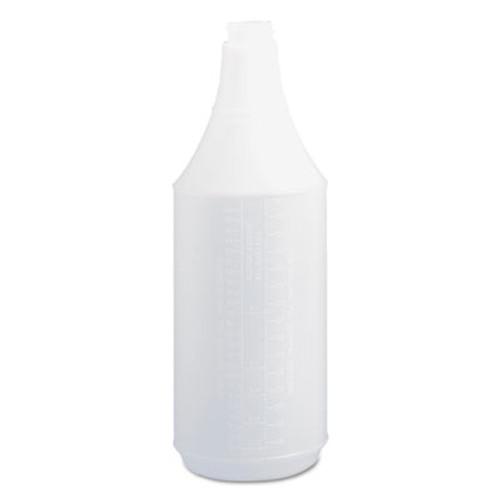 Boardwalk Embossed Spray Bottle, 32 oz, Clear, 24/Carton (BWK00032)