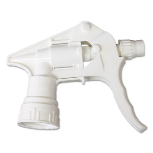 "Boardwalk Trigger Sprayer 250 f/24 oz Bottles, White, 8""Tube, 24/Carton (BWK58108)"