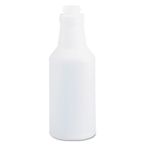 Boardwalk Handi-Hold Spray Bottle, 16 oz, Clear, 24/Carton (BWK00016)