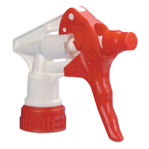 "Boardwalk Trigger Sprayer 250 f/32 oz Bottles, Red/White, 9 1/4""Tube, 24/Carton (BWK09229)"