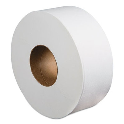 "Boardwalk Jumbo Roll Bathroom Tissue, 2-Ply, White, 3.4"" x 1000 ft, 12 Rolls/Carton (BWK410323)"