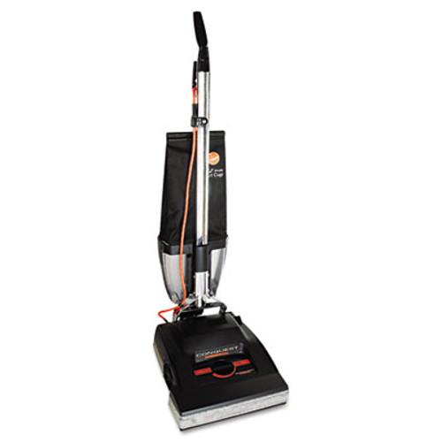 Hoover Conquest Bagless Upright Vacuum, 25lb, Black (HVRC1800010)