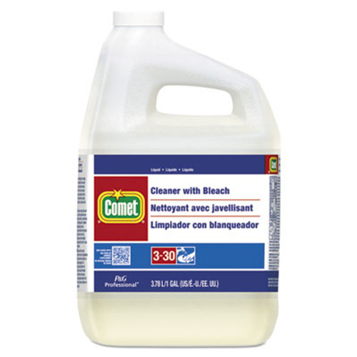 Comet Cleaner with Bleach, Liquid, One Gallon Bottle, 3/Carton (PGC02291CT)